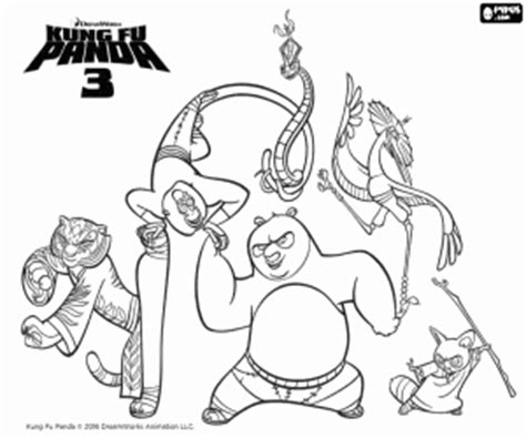 Kung Fu Panda Coloring Page - Eskayalitim