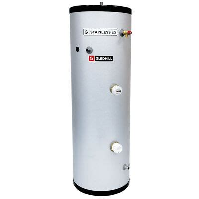 gledhill es 170l direct unvented cylinder stainless steel 170 litre ebay