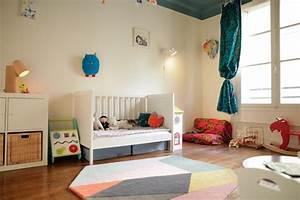 chambre enfant entre afrique et scandinavie eclectique With tapis chambre bébé avec comment envoyer des fleurs