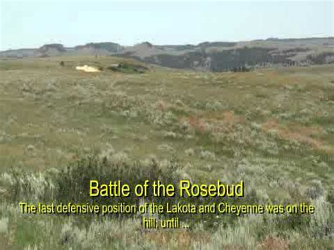 Battle of the Rosebud Creek - June 17, 1876 - YouTube