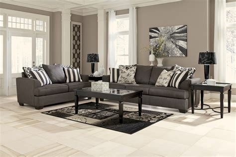Levon Charcoal Sofa And Loveseat by Buy Levon Charcoal Sofa By Signature Design From Www