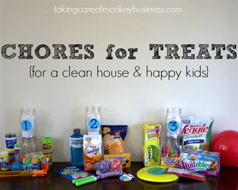 Chores For Treats