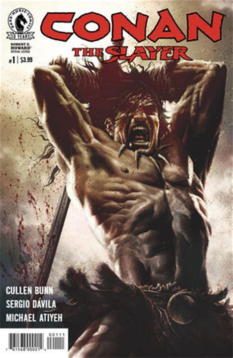 conan  slayer  profile dark horse comics