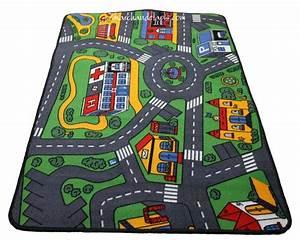 Tapis Enfant Route : tapis circuit enfant maison design ~ Teatrodelosmanantiales.com Idées de Décoration