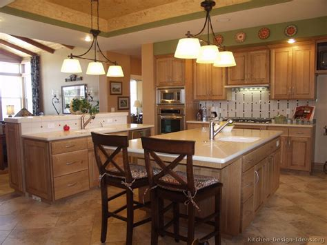 oak kitchen design ideas pictures of kitchens traditional light wood kitchen