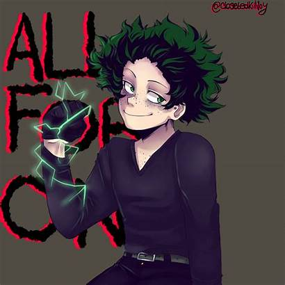 Deku Villain Hero Academia Anime Bnha Boku