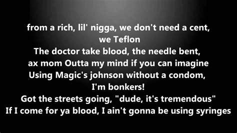 Westwood Eminem Freestyle Radio 1 Lyrics On Screen