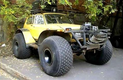 offroad cer this russian car has been custom made to go off roading