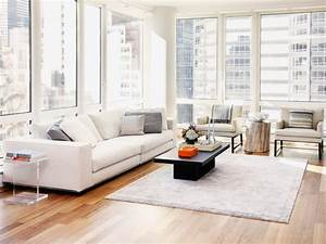 Serene urban apartment tara benet hgtv for Modern living room furniture new york