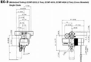 2 Ton Coffing Hoist Wiring Diagram  U2013 Wires  U0026 Decors
