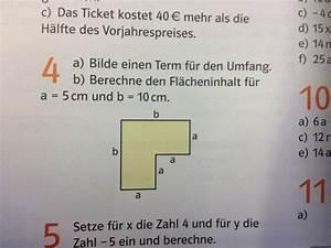 Flächeninhalt Und Umfang Berechnen : terme fl cheninhalt berechnen terme variablen mathelounge ~ Themetempest.com Abrechnung