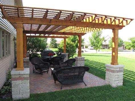 arbor paver patio deck gazebo tub pergola
