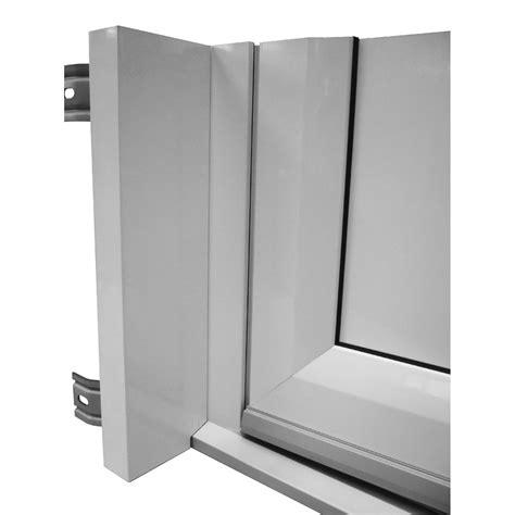 tap 233 e d isolation pour porte d entr 233 e h 215 x l 90 cm aluminium artens leroy merlin