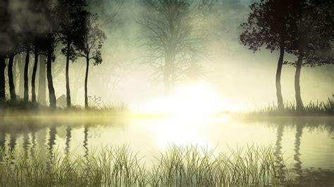 Windows 10 Nature Screensaver Sunrise Lake Screensaver