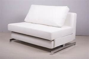modern white leather sofa bed sleeper home interior With modern white leather sofa bed sleeper