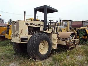 Used Ingersoll Rand Road Roller Sd100d  Rollers  Construction Machinery  Construction Tools And