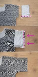 How To Sew An Easy Women U0026 39 S Tee Shirt With Cuffed Sleeves
