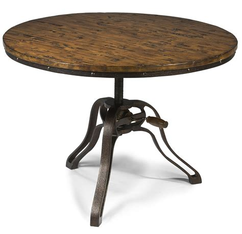 adjustable height round coffee table round cocktail table