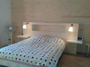 Fabriquer Une Tête De Lit : fabriquer une tete de lit en lambris digpres ~ Dode.kayakingforconservation.com Idées de Décoration