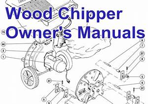 Wood Chipper Shredder Manual