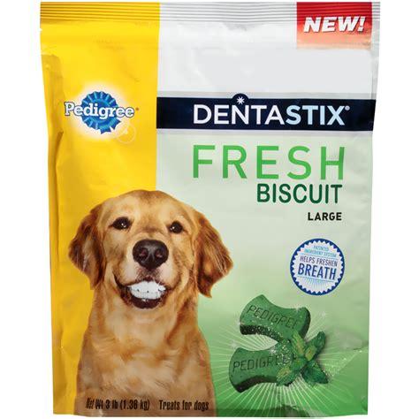 pedigree dentastix fresh biscuit large  lb
