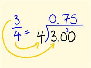 how do you turn decimals into fractions convert any fraction to a decimal easy math lesson
