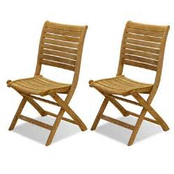 varese teak patio folding chair set 2 pcs sam s club