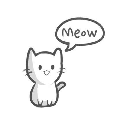 pix  easy cute cat drawing litle pups