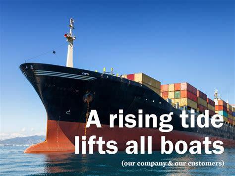 A Rising Tide Lifts All Boats by A Rising Tide Lifts All