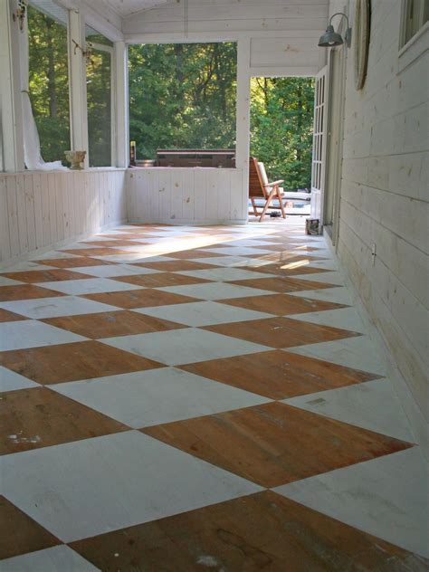 Porch Flooring by Unique Outdoor Flooring Ideas Hgtv
