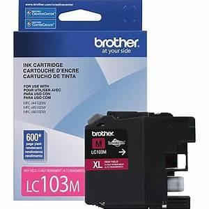 Brother Lc103m Inkjet Cartridge Magenta High Yield