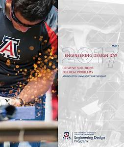 Ua Engineering Design Day Book 2017 By University Of