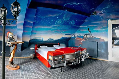 hotel automotive themed hotel  stuttgart