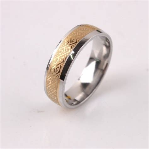 buy real gold plated engagement wedding ring rings uae souq