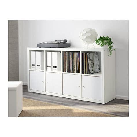 ikea kallax bookcase kallax shelving unit white 77x147 cm ikea