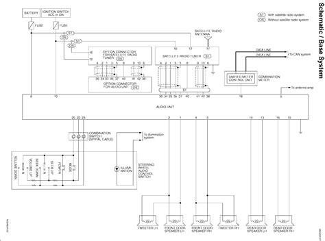 Infiniti Stereo Wiring Diagram Diagrams Online