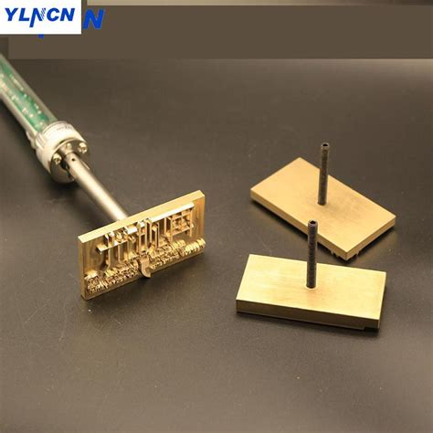hand hold www electric iron hot foil stamp press