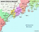 Pin by Annell Johnson on Travel in 2021 | Maine map, Maine ...