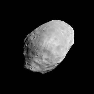 APOD: 2003 July 1 - Martian Moon Phobos from MGS