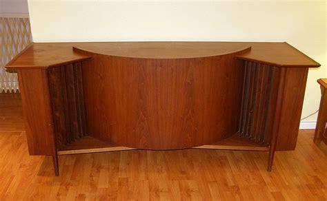 Nice Bar Stools by Vintage Speakers Bring Sweet Music To Game Room