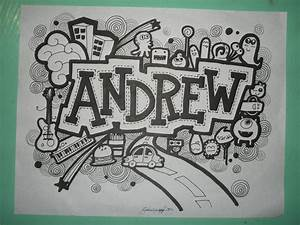 Doodle Art Lettering Names Imgkid Com The Image Kid Has It