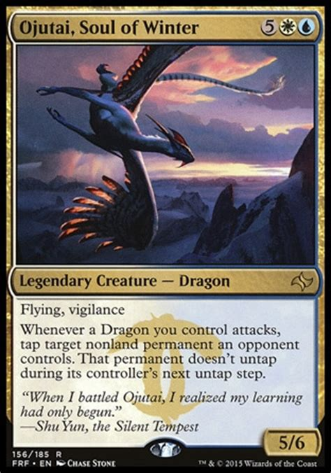 magic  gathering mtg commander primer ojutai soul