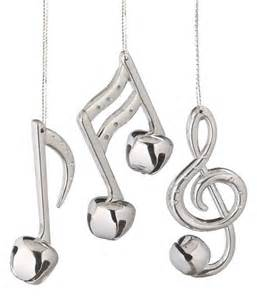 silver bell musical note ornament diy crafts pinterest