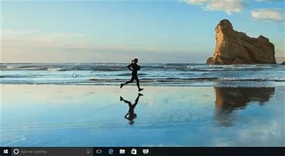 Windows Start Background Turn Tiles Apps 3d