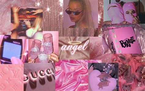 aesthetic wallpaper laptop pink