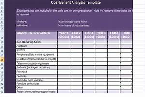 get cost benefit analysis template in excel excel With cost price analysis template