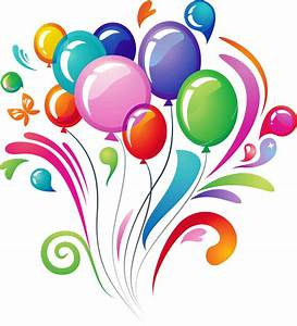 Happy Birthday Balloons Png - ClipArt Best