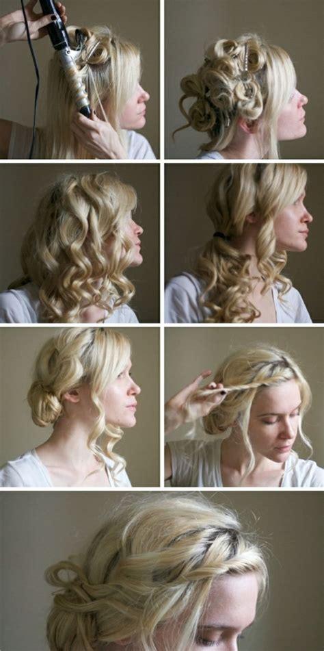 anleitung für hochsteckfrisuren selber machen hocksteckfrisur selber machen anleitung ideen hairstyle