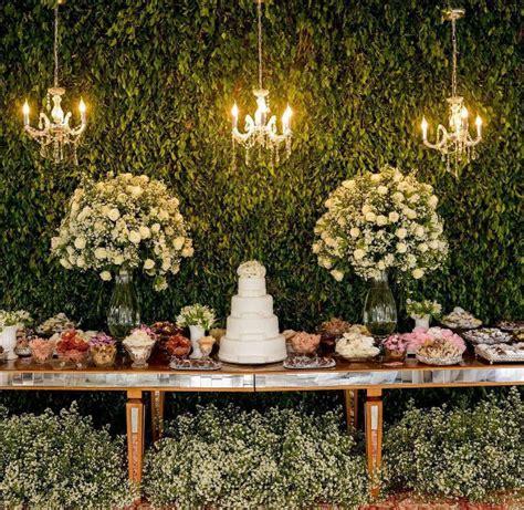 una boda tematica de jardin romantico