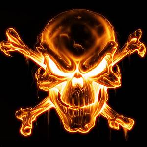 Fire Skull Wallpapers - WallpaperSafari